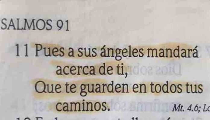Dios te protegerá con sus ángeles