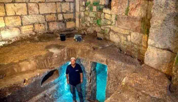 Encuentran lago subterráneo bajo el Muro de los Lamentos